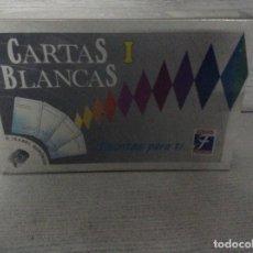 Juegos de mesa: CARTAS BLANCAS,JUEGOS FOURNIER.NUEVO. Lote 195774495