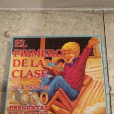 Juegos de mesa: JUEGO EL PRIMERO DE LA CLASE. DE FALOMIR. Lote 166627562