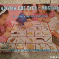 Juegos de mesa: JUEGO ADIVINA QUE OYES DE FALOMIR. Lote 166629962