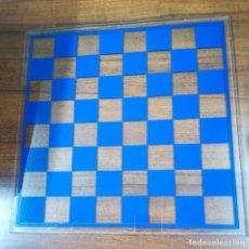 Juegos de mesa: TABLERO AJEDREZ DAMAS METACRILATO. Lote 166631446
