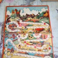Juegos de mesa: TABLERO DE CARTÓN JUEGO. ILUSTRADO POR KARPA. GEYPER. Lote 166698406