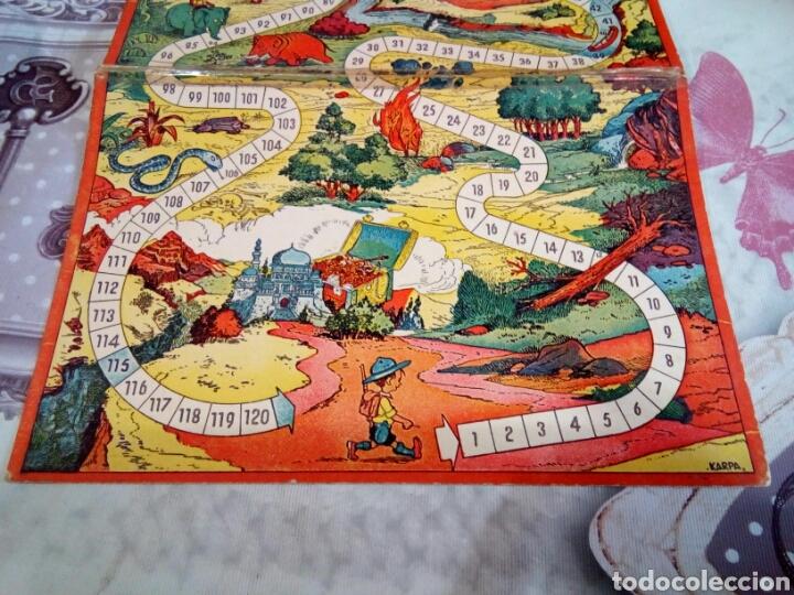 Juegos de mesa: TABLERO DE JUEGO DE CARTÓN ILUSTRACIONES KARPA. GEIPER - Foto 3 - 166710801