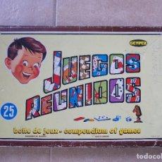 Juegos de mesa: JUEGO DE MESA - JUEGOS REUNIDOS GEYPER AÑOS 60-70. Lote 166727870
