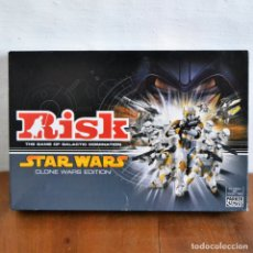 Juegos de mesa: JUEGO DE MESA RISK STAR WARS EDICION GUERRAS CLON DE PARKER. Lote 166828682