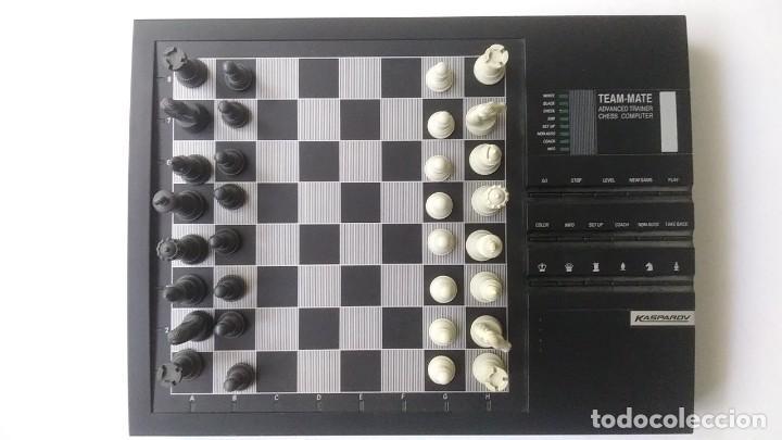 Juegos de mesa: ajedrez electronico KASPAROV - Foto 2 - 166849194