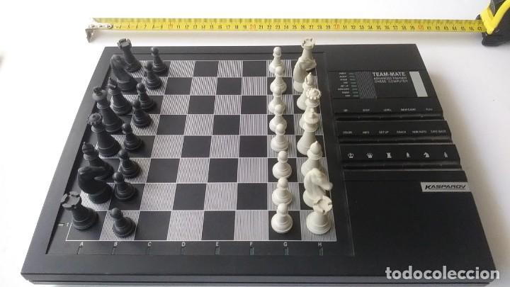 Juegos de mesa: ajedrez electronico KASPAROV - Foto 4 - 166849194