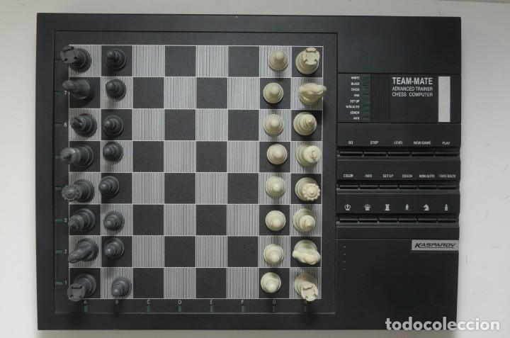 Juegos de mesa: ajedrez electronico KASPAROV - Foto 8 - 166849194