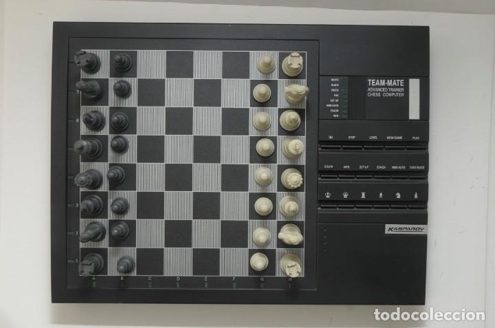 Juegos de mesa: ajedrez electronico KASPAROV - Foto 9 - 166849194