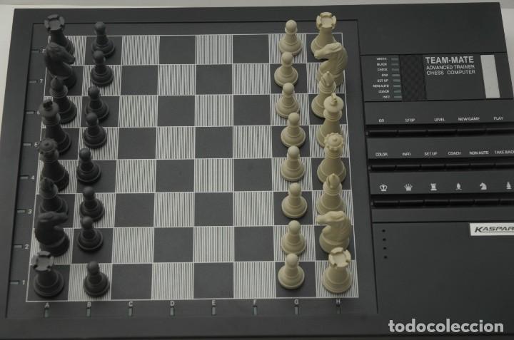 Juegos de mesa: ajedrez electronico KASPAROV - Foto 10 - 166849194