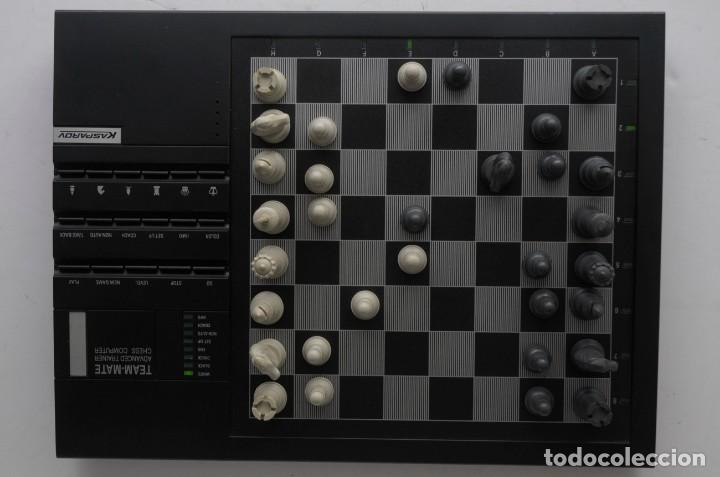Juegos de mesa: ajedrez electronico KASPAROV - Foto 11 - 166849194