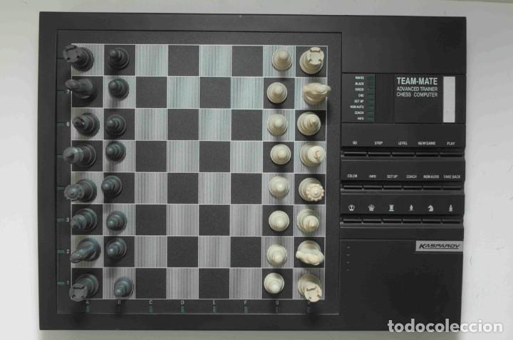 Juegos de mesa: ajedrez electronico KASPAROV - Foto 26 - 166849194