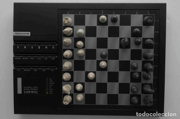 Juegos de mesa: ajedrez electronico KASPAROV - Foto 30 - 166849194