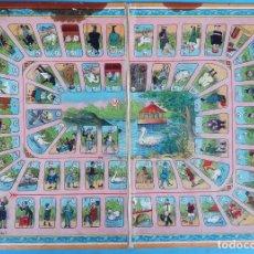 Juegos de mesa: JUEGO DE LA OCA , ANTIGUO , EN CARTON DURO , ORIGINAL. Lote 166928828