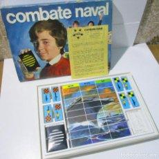 Juegos de mesa: JUEGO DE MESA COMBATE NAVAL DE EDUCA, AÑOS 70. Lote 167052068