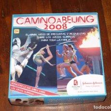 Juegos de mesa: JUEGO CAMINO A BEIJING 2008. VER FOTOS Y DESCRIPCION.. Lote 167500744