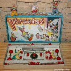 Juegos de mesa: PIRUETA Nº1 - JUGUETES BORRAS - MATARÓ - AÑOS 40/50. Lote 167521328