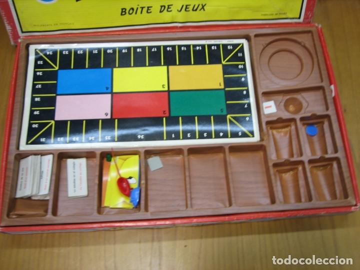 Juegos de mesa: Antiguo juego auto Rallye de Congos. Incompleto - Foto 4 - 167556152