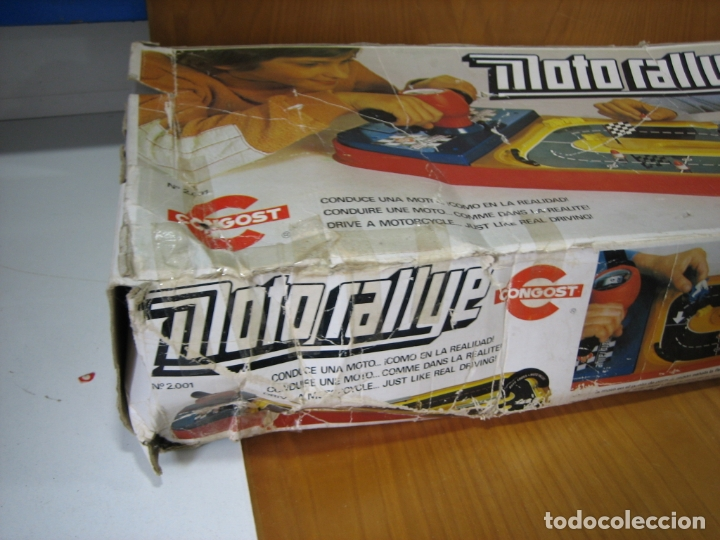 Juegos de mesa: Antiguo juego auto Rallye de Congos. Incompleto - Foto 7 - 167556152