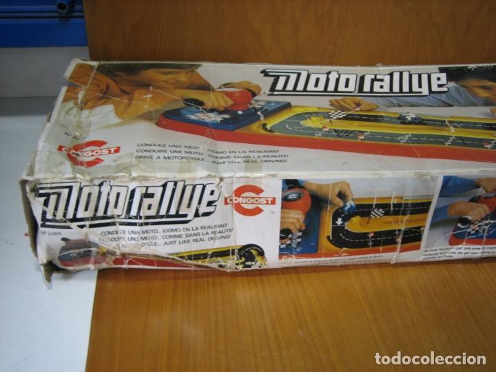 Juegos de mesa: Antiguo juego auto Rallye de Congos. Incompleto - Foto 8 - 167556152