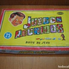 Juegos de mesa: ANTIGUOS JUEGOS REUNIDOS GEYPER 25. INCOMPLETO. Lote 167626272