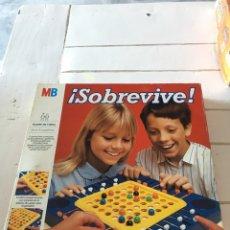 Juegos de mesa: JUEGO SOBREVIVE MB. Lote 167735742