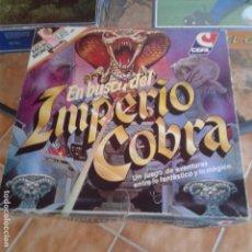 Juegos de mesa: EN BUSCA DEL IMPERIO COBRA. CEFA. AÑOS 80. COMPLETO. Lote 167762472