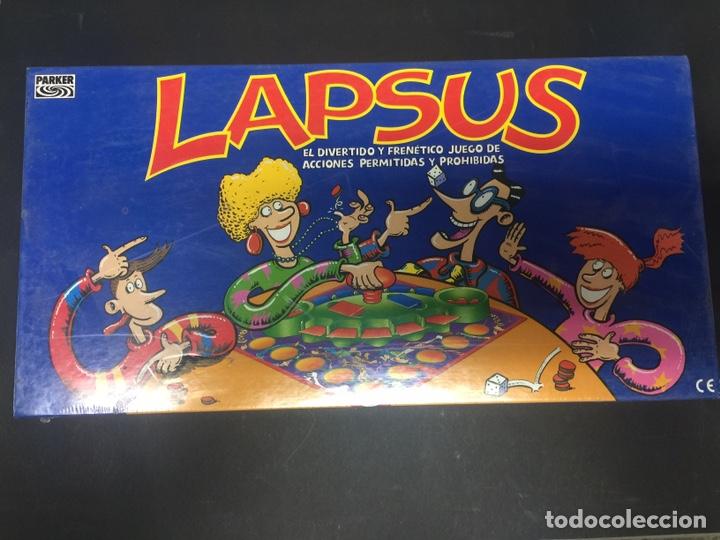 JUEGO DE MESA LAPSUS DE PARKER PRECINTADO (Juguetes - Juegos - Juegos de Mesa)