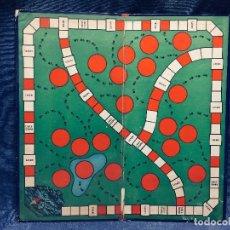 Juegos de mesa: TABLERO SAFARI ROSSELLO BARCELONA JUEGOS CRONE 33X33CMS. Lote 168057776