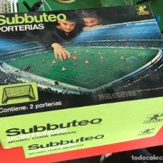Juegos de mesa: SUBBUTEO PORTERIAS. Lote 168075802