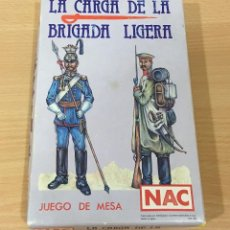Juegos de mesa: JUEGO DE MESA WARGAME - LA CARGA DE LA BRIGADA LIGERA. NAC, 1987. Lote 168234552