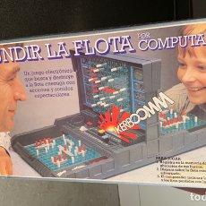 Juegos de mesa: HUNDIR LA FLOTA POR COMPUTADOR MB. Lote 168262146