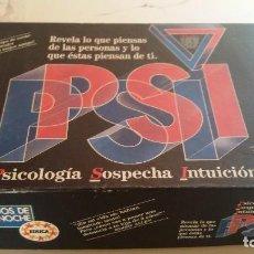 Juegos de mesa: PSI DE EDUCA. Lote 168434216