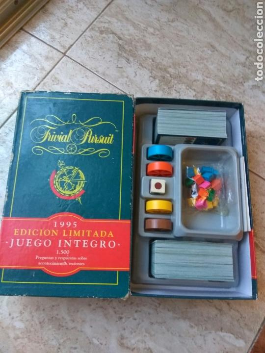 Juegos de mesa: JUEGO TRIVIAL PURSUIT EDIC. LIMITADA 1995 - Foto 2 - 168434633