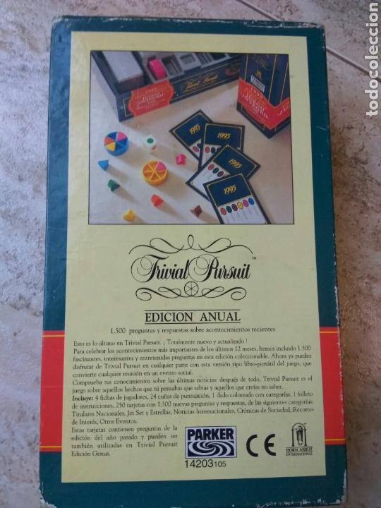 Juegos de mesa: JUEGO TRIVIAL PURSUIT EDIC. LIMITADA 1995 - Foto 3 - 168434633