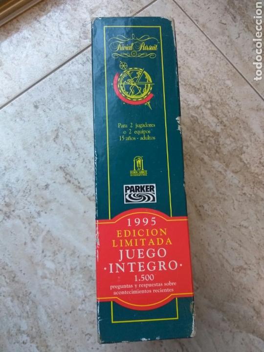 Juegos de mesa: JUEGO TRIVIAL PURSUIT EDIC. LIMITADA 1995 - Foto 4 - 168434633