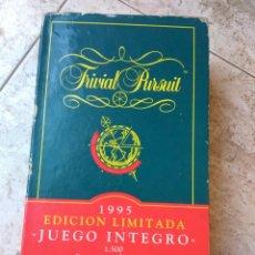 Juegos de mesa: JUEGO TRIVIAL PURSUIT EDIC. LIMITADA 1995. Lote 168434633