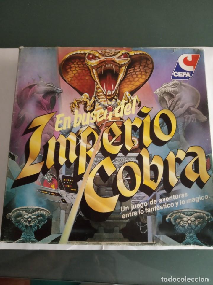 EN BUSCA DEL IMPERIO COBRA CEFA JUEGO DE MESA COMPLETO (Juguetes - Juegos - Juegos de Mesa)