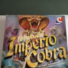 Juegos de mesa: EN BUSCA DEL IMPERIO COBRA CEFA JUEGO DE MESA COMPLETO. Lote 168502408