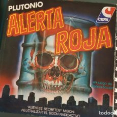 Juegos de mesa: JUEGO ALERTA ROJA --COMPLETO-- CEFA. AÑOS 80.. Lote 168503496