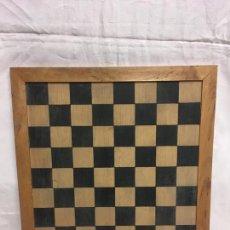 Juegos de mesa: TABLERO AJEDREZ DAMAS. Lote 168544116