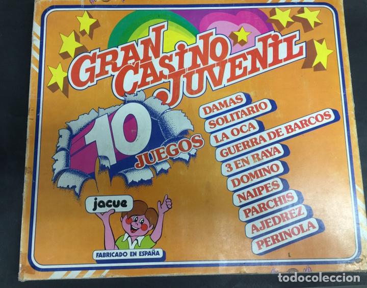 JUEGO DE MESA EL GRAN CASINO JUVENIL AÑOS 80 CON CARTAS PIPI A ESTRENAR (Juguetes - Juegos - Juegos de Mesa)