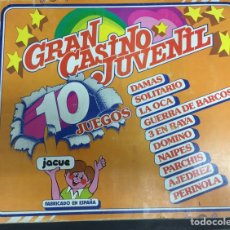 Juegos de mesa: JUEGO DE MESA EL GRAN CASINO JUVENIL AÑOS 80 CON CARTAS PIPI A ESTRENAR. Lote 168791493