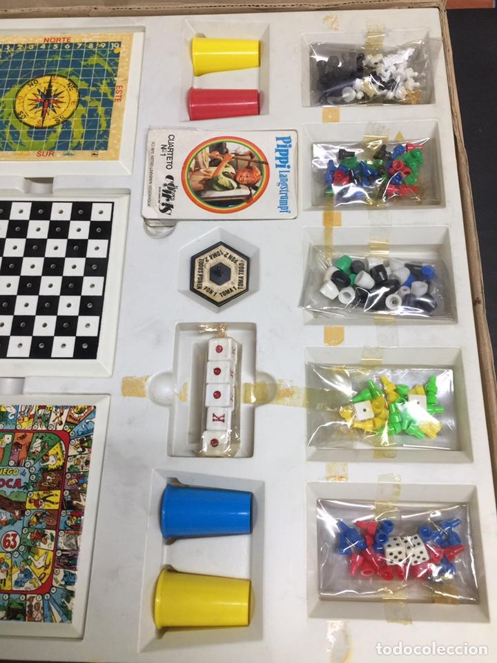 Juegos de mesa: Juego de mesa el gran casino juvenil años 80 con cartas pipi a estrenar - Foto 5 - 168791493