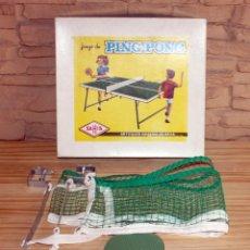 Juegos de mesa: ANTIGUO JUEGO DE PING PONG - SAHIS - AÑOS 50 . Lote 168819472