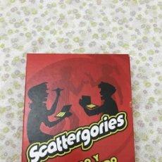 Juegos de mesa: SCATTERGORIES. Lote 168935440
