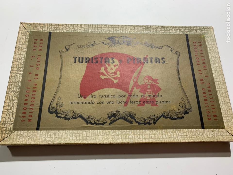 JUEGO DE MESA TURISTAS Y PIRATAS DE JUEGOS CRONE FRANCISCO ROSSELLÓ 1954 (Juguetes - Juegos - Juegos de Mesa)