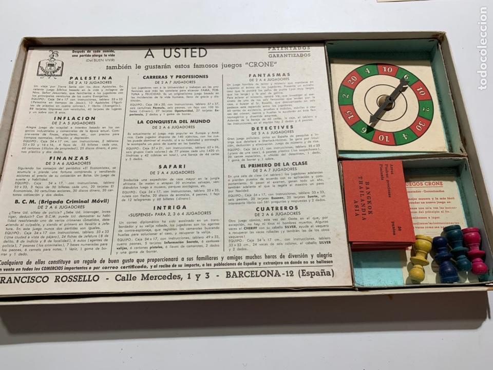 Juegos de mesa: Juego de mesa turistas y piratas de juegos crone Francisco Rosselló 1954 - Foto 2 - 169068884