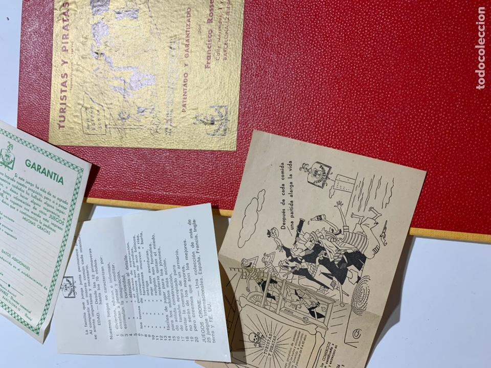 Juegos de mesa: Juego de mesa turistas y piratas de juegos crone Francisco Rosselló 1954 - Foto 3 - 169068884