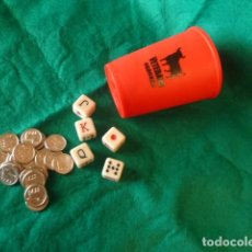 Juegos de mesa: JUEGO DADOS PÓKER VETERANO. Lote 169102472