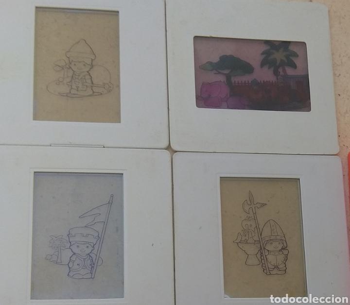 Juegos de mesa: Lote de Diapositivas Proyector Famosa Happy Cam - Pin y Pon - Playmobil - - Foto 2 - 169219809
